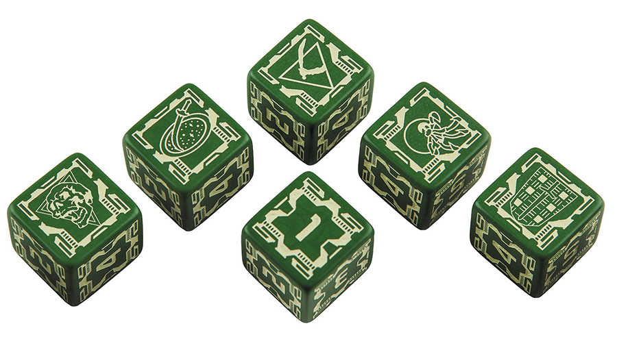 Battletech House Liao D6 Dice Set (6) Box Front