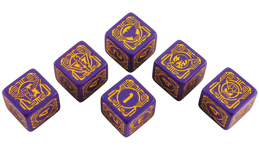 Battletech House Marik D6 Dice Set (6) Box Front