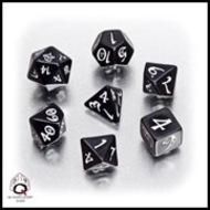 Classic Rpg Dice Set Black/white (7) Box Front