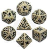 Call Of Cthulhu Dice Set Beige/black (7) Box Front