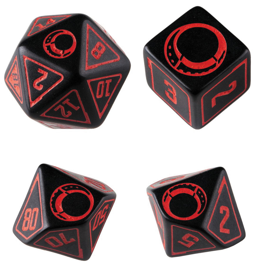Cypher System Dice Set (4) Box Front