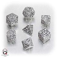 Forest Dice Set 3d White/black (7) Box Front