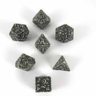 Forest Dice Set 3d Beige/black (7) Box Front