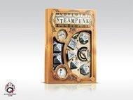 Metal Dice Set: Steampunk (7) Box Front