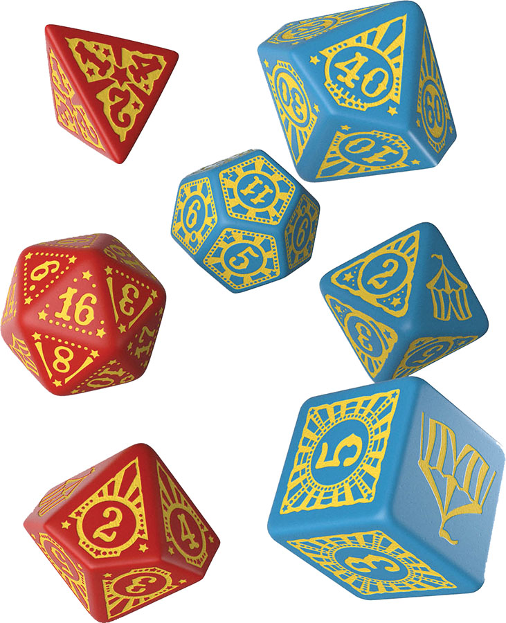 Pathfinder Ext Curse Entertainers Dice Set (7)