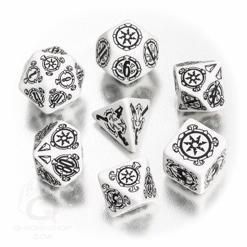 Pathfinder Shattered Star Dice Set (7) Box Front
