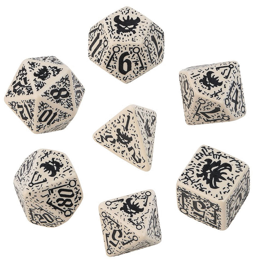 Pathfinder Council Of Thieves Dice Set (7) Box Front