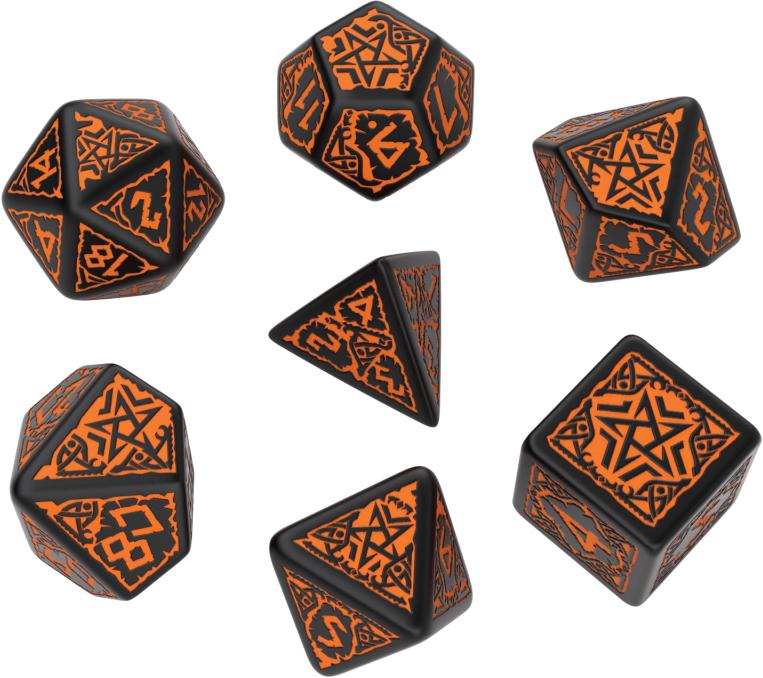 Pathfinder Hell`s Vengeance Dice Set (7) Box Front