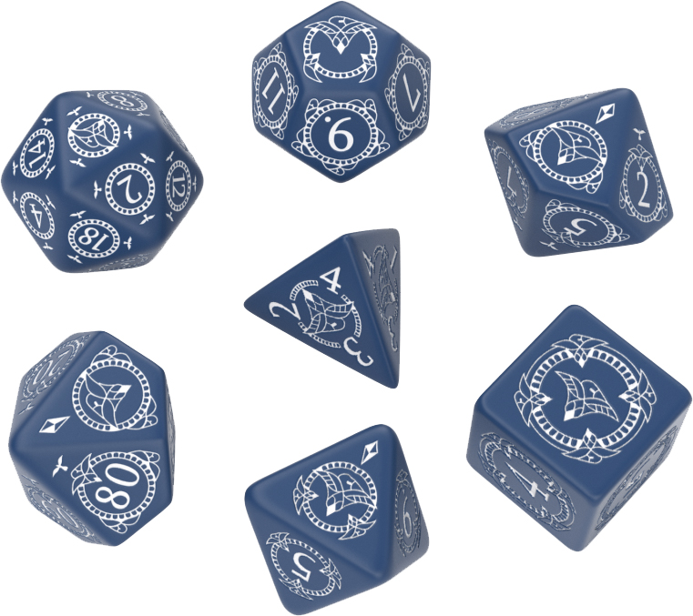 Pathfinder Hell`s Rebels Dice Set (7) Box Front