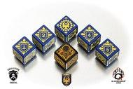 Warmachine Cygnar Faction Dice Set (6) Box Front