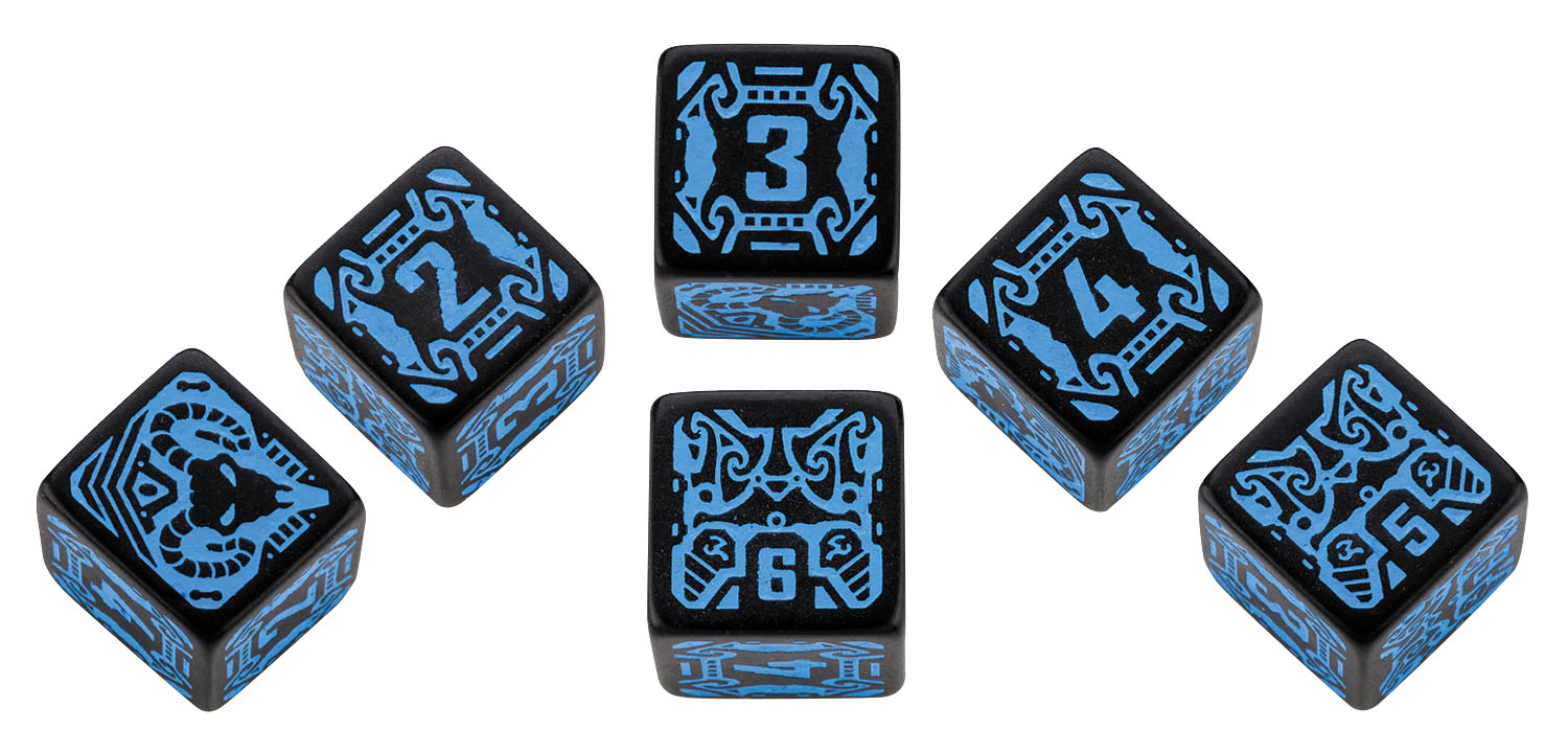 Shadowrun Dice Set Spellcaster (6) Box Front