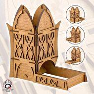 Dice Tower: Elven Box Front