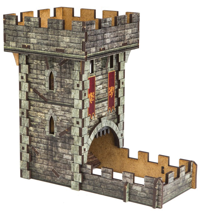 Dice Tower: Castle Color Box Front