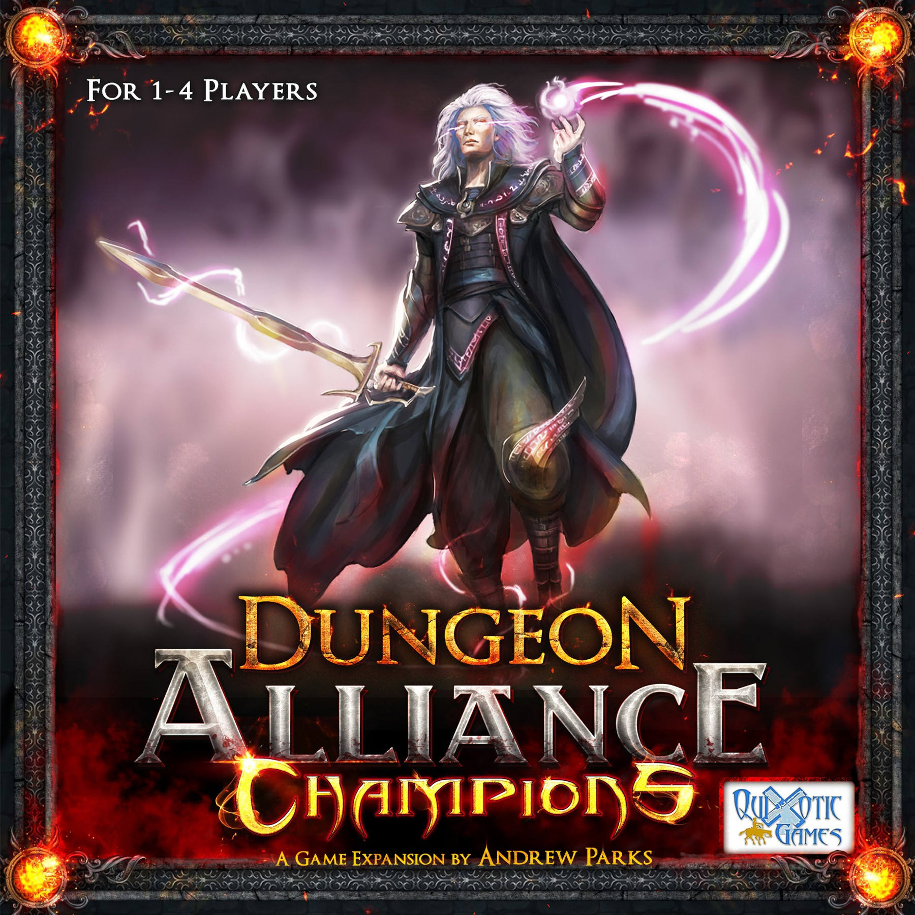 Dungeon Alliance - Champions Expansion Game Box