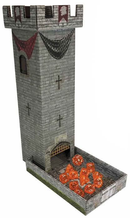 Castle Keep Rpg: Dice Tower Box Front