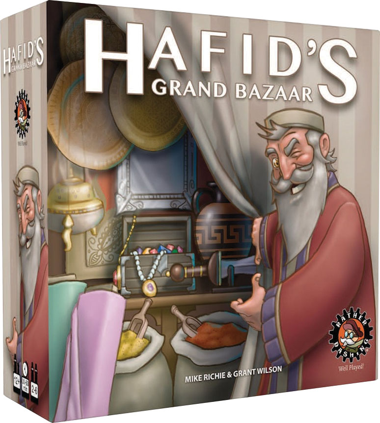 Hafid`s Grand Bazaar Game Box