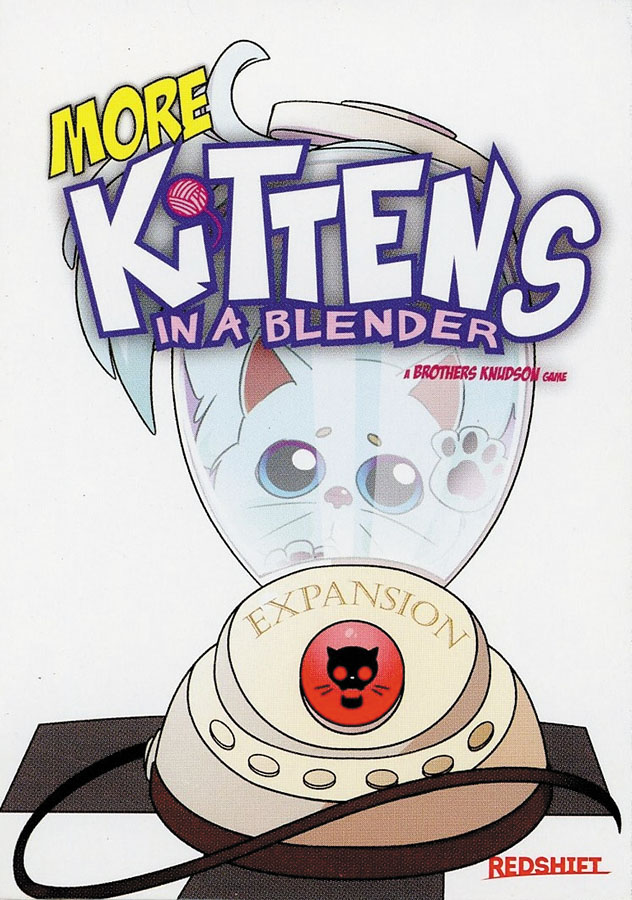 More Kittens In A Blender Expansion Box Front