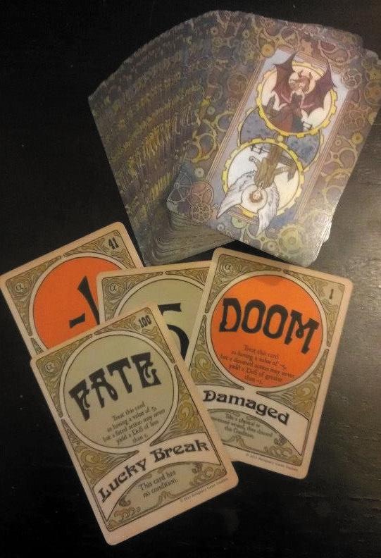 Clockwork Dominion Rpg: Clockwork Cards Box Front