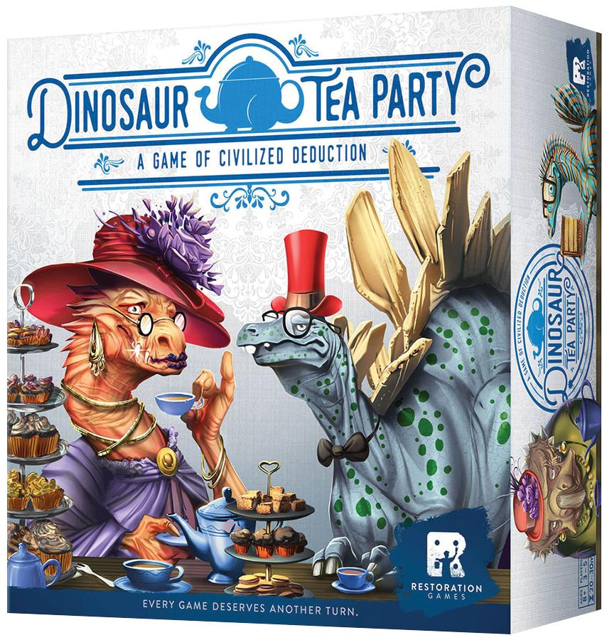 Dinosaur Tea Party Box Front