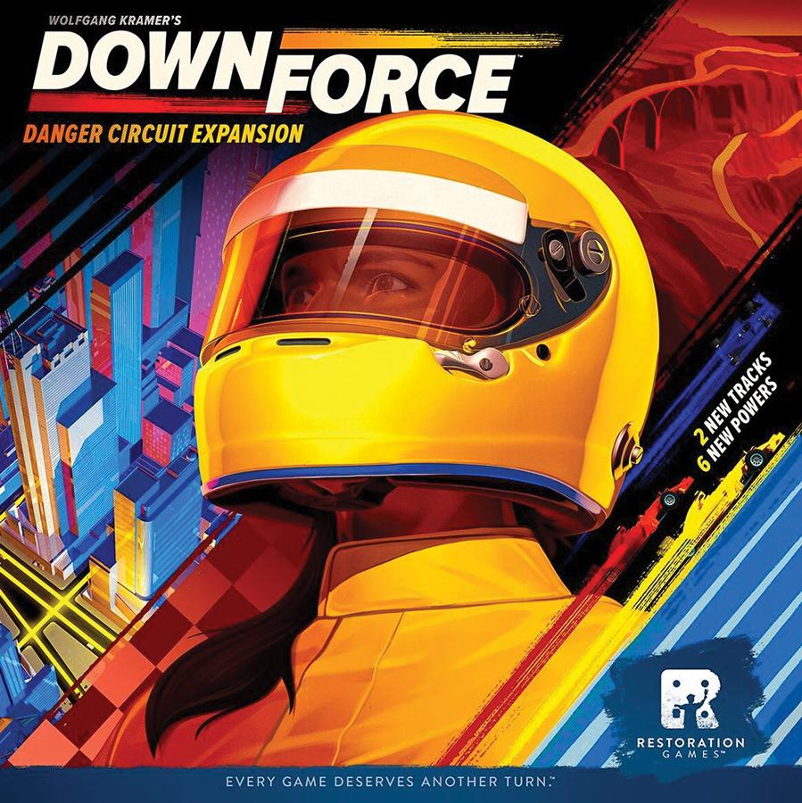 Downforce: Danger Circuit Expansion Box Front