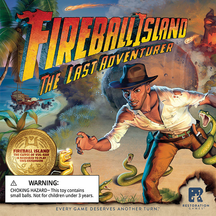 Fireball Island: Last Adventurer Game Box