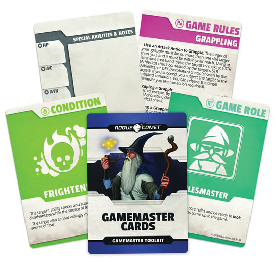 5th Edition Fantasy: Gamemaster Cards Box Front
