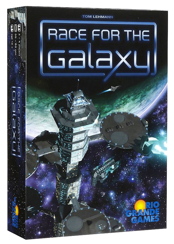 Race For The Galaxy Box Front