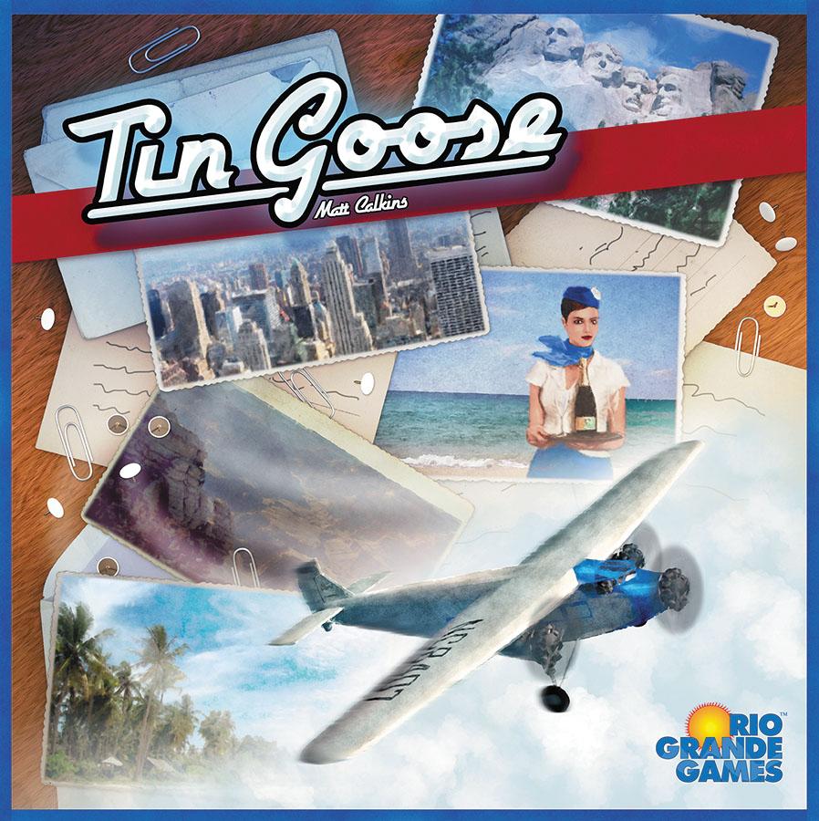 Tin Goose Box Front
