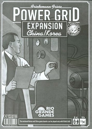 Power Grid: China And Korea Expansion Box Front