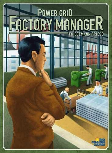 Power Grid: Factory Manager (stand Alone) Box Front