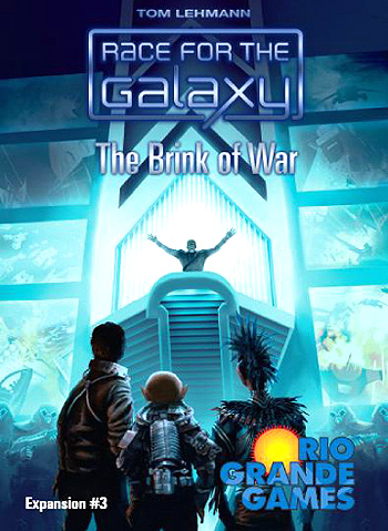 Race For The Galaxy: The Brink Of War Expansion Box Front