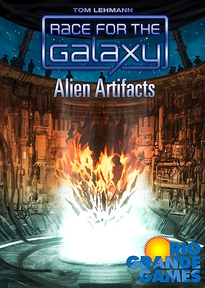 Race For The Galaxy: Alien Artifacts Box Front