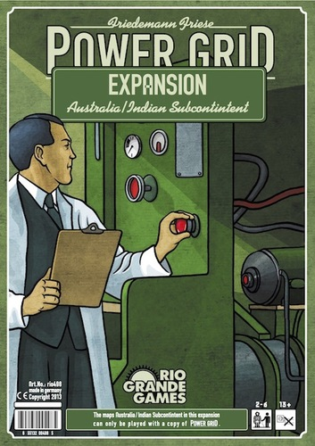 Power Grid: India / Australia Expansion Box Front