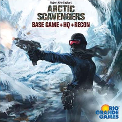 Arctic Scavengers: Base Game With Hq And Recon Expansions Box Front