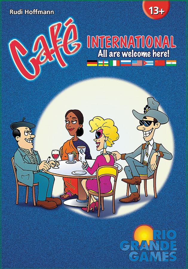 Cafe International Box Front