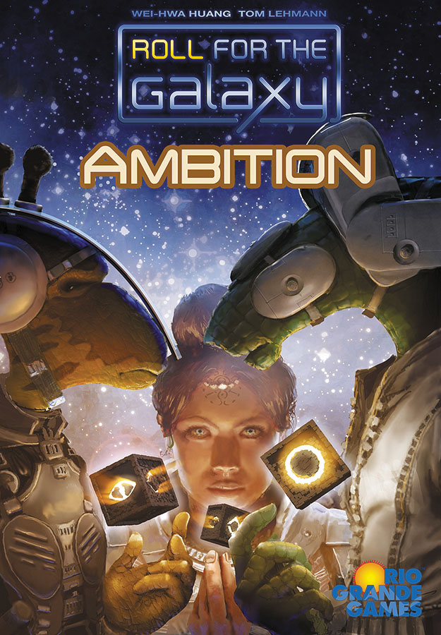 Roll For The Galaxy: Ambition Expansion Box Front
