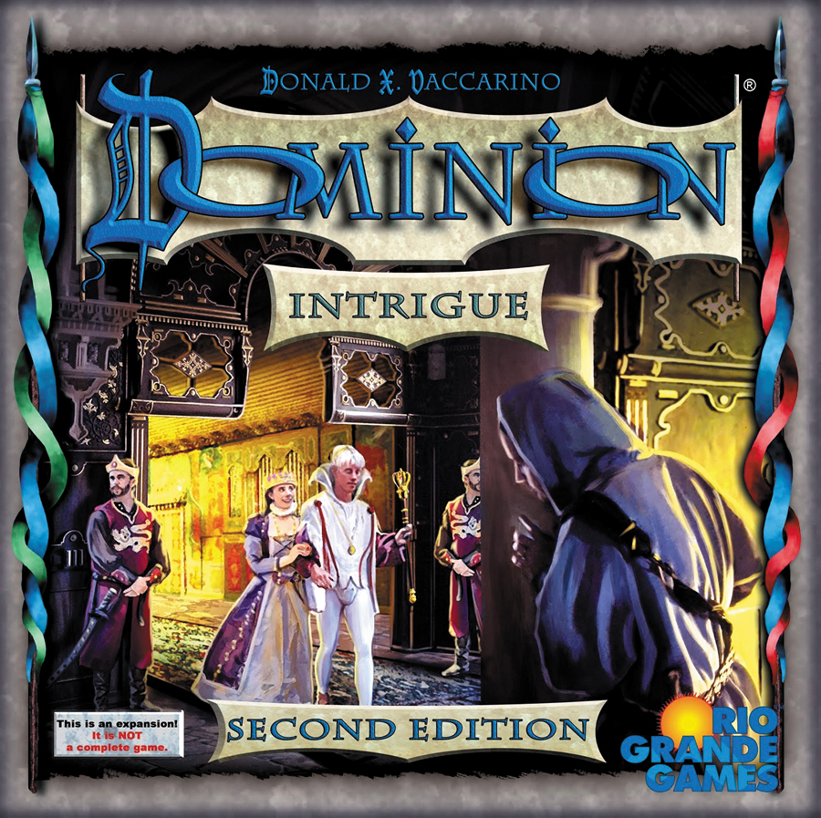 Dominion: Intrigue, 2nd Edition Box Front