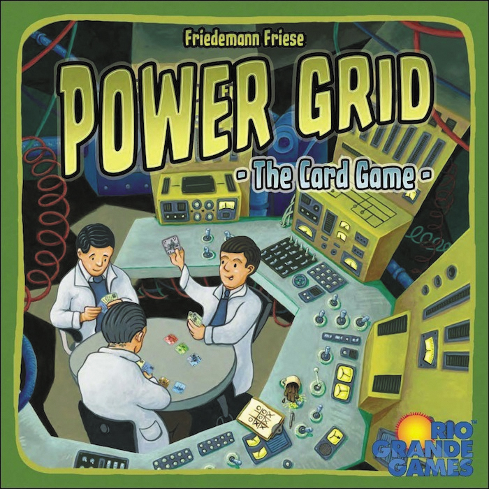 Power Grid: The Card Game Box Front