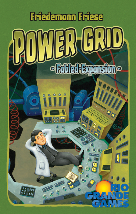 Power Grid: Fabled Cards Box Front