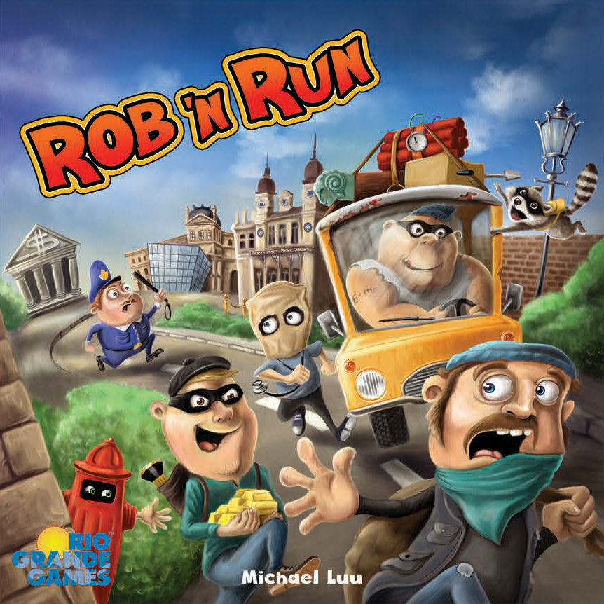 Rob `n Run Box Front