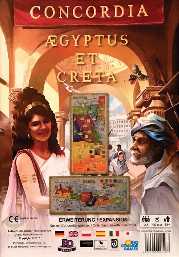 Concordia: Aegyptus And Creta Box Front