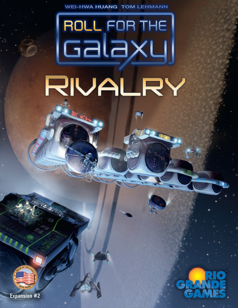 Roll For The Galaxy: Rivalry Game Box