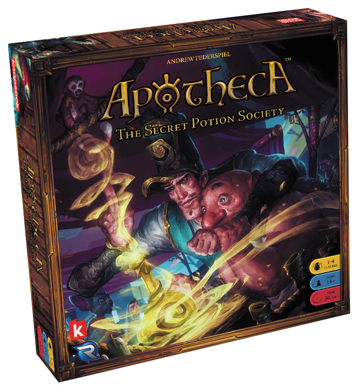 Apotheca: The Secret Potion Society Box Front