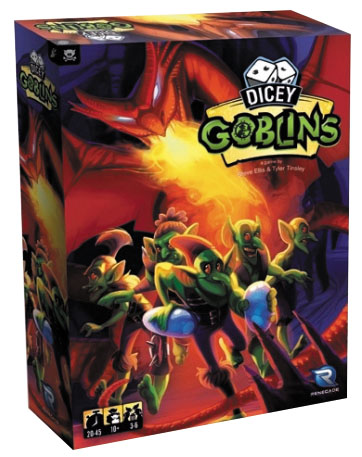 Dicey Goblins Box Front