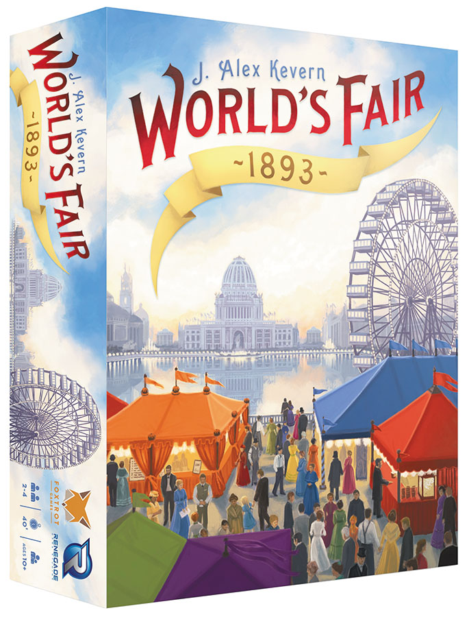 World`s Fair 1893 Box Front