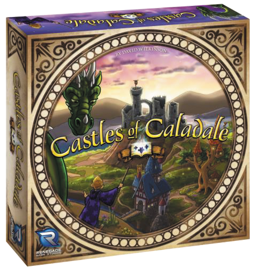Castles Of Caladale Box Front