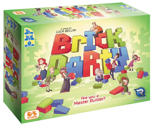 Brick Party Box Front