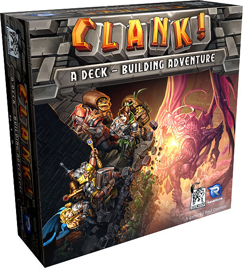 Clank! A Deck-building Adventure Box Front