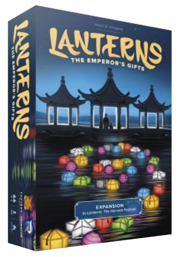 Lanterns: The Emperor`s Gifts Expansion Box Front