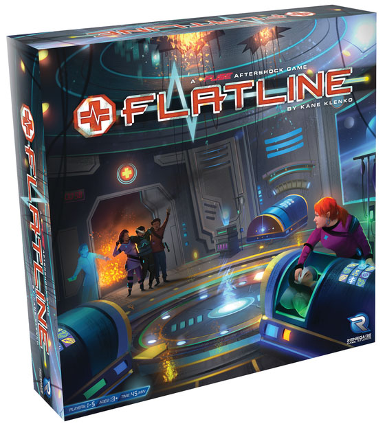 Flatline: A Fuse Aftershock Game Box Front